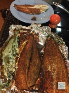 Smoked Spanish Mackerel